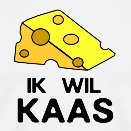 Ik wil kaas - Mannen Premium T-shirt