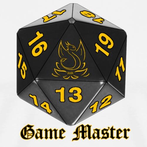 Game master yellow - T-shirt Premium Homme