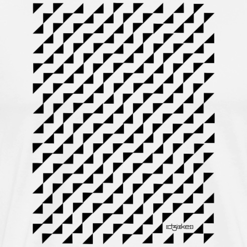 pattern - triangle - Men's Premium T-Shirt