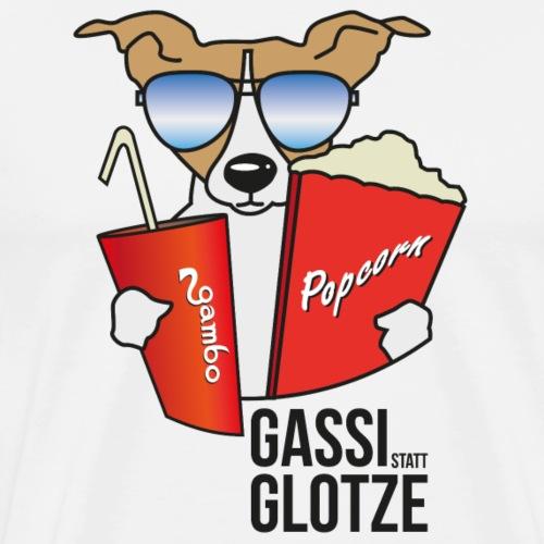 Gassi statt Glotze 2 - Männer Premium T-Shirt