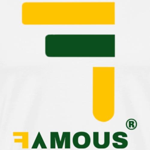 Famous Design - T-shirt Premium Homme