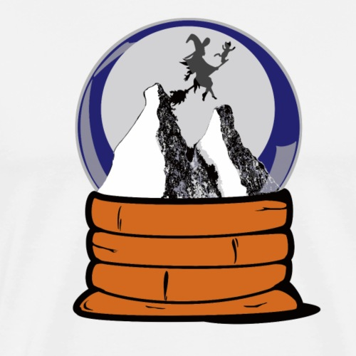 Serie Boule à neige : La sorcière - T-shirt Premium Homme