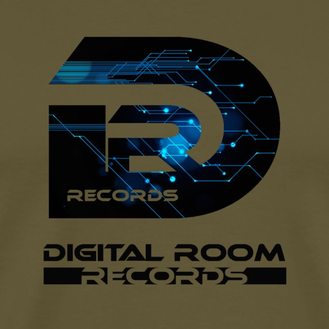 Digital Room Records Official Logo effect