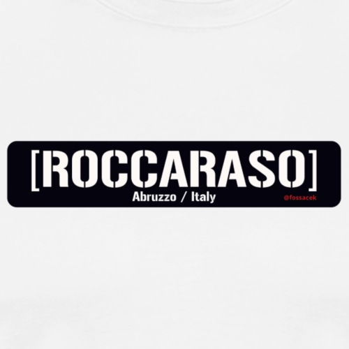Roccaraso - Maglietta Premium da uomo