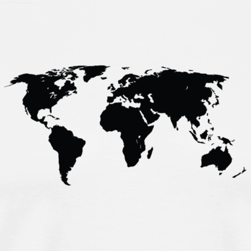 World - Herre premium T-shirt