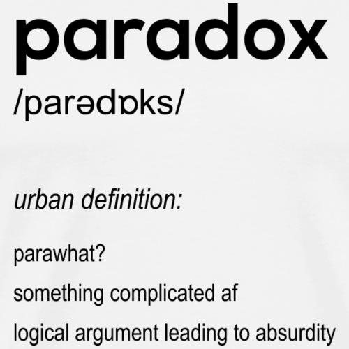 paradox - Men's Premium T-Shirt