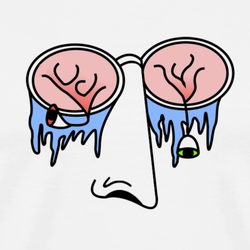 Sad eyes 2 - T-shirt Premium Homme