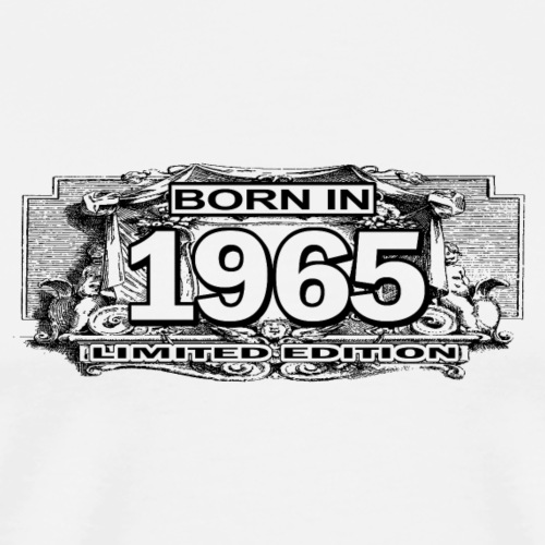 born in 1965 limited edition - T-shirt Premium Homme
