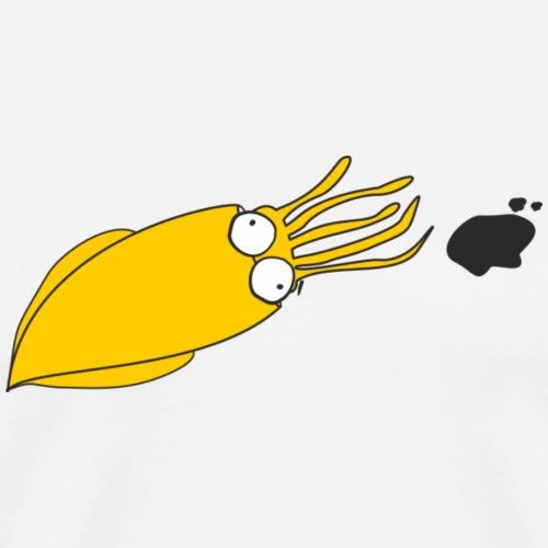 Calamaro_Yellow - Maglietta Premium da uomo