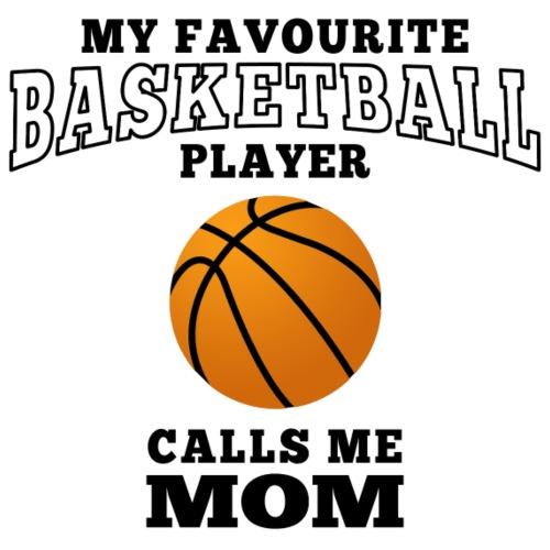 mom's favourite basketball player - Männer Premium T-Shirt