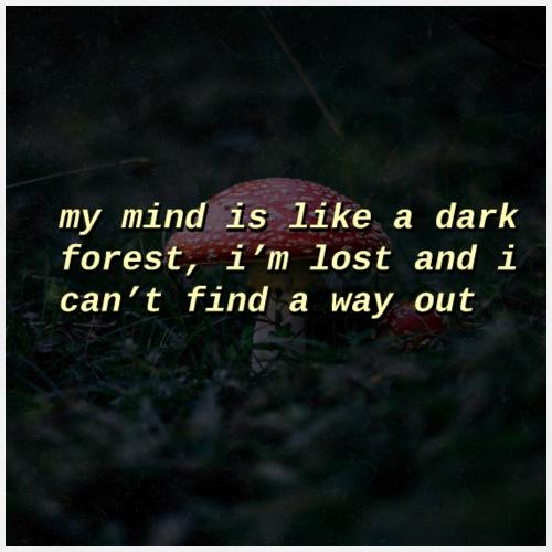 Dark Forest - Mannen Premium T-shirt