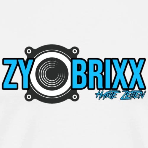 Zybrixx HZ Logo - Männer Premium T-Shirt