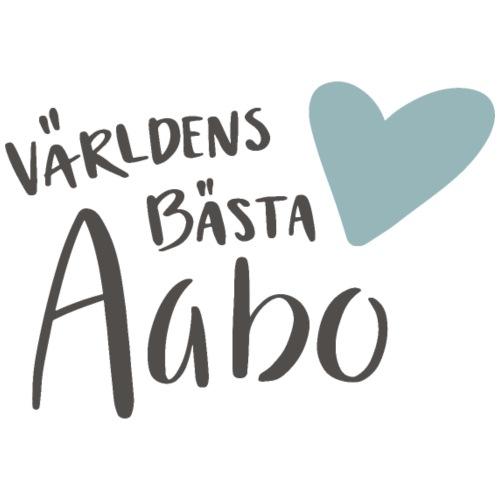 Världens bästa Aabo - Premium-T-shirt herr