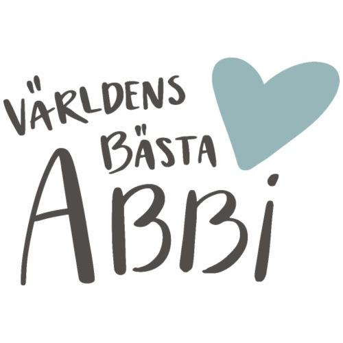 Världens bästa Abbi - Premium-T-shirt herr