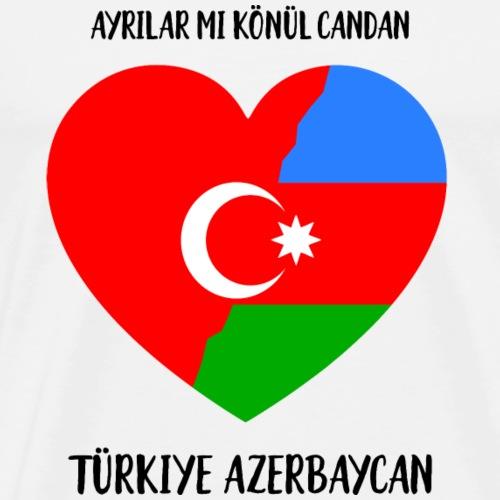 Türkiye Azerbaycan - Männer Premium T-Shirt