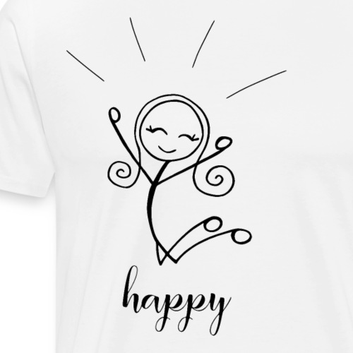 Strichmädchen HAPPY - Männer Premium T-Shirt