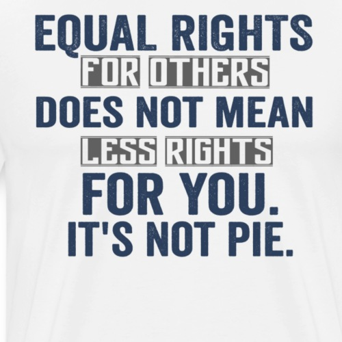EQUAL RIGHTS DOES NOT MEAN LESS RIGHTS FOR YOU - Männer Premium T-Shirt