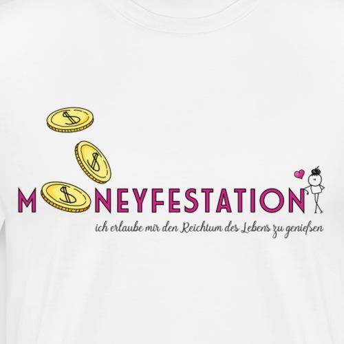 moneyfestation - Männer Premium T-Shirt