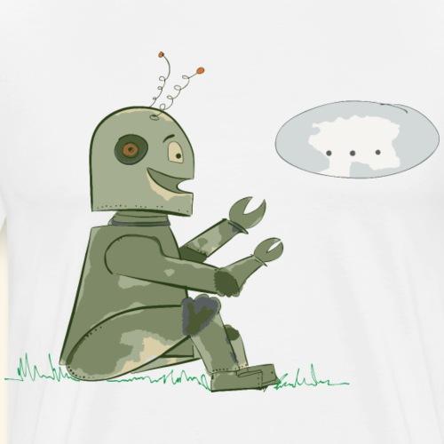 Sit 'n Talk Bot 1 -by i.r.k. - Männer Premium T-Shirt
