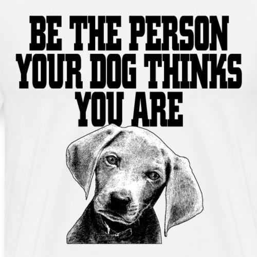 witziges cooles hunde t shirt geschenk - Männer Premium T-Shirt