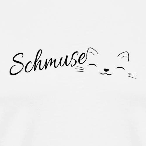 Schmusekatze - Männer Premium T-Shirt