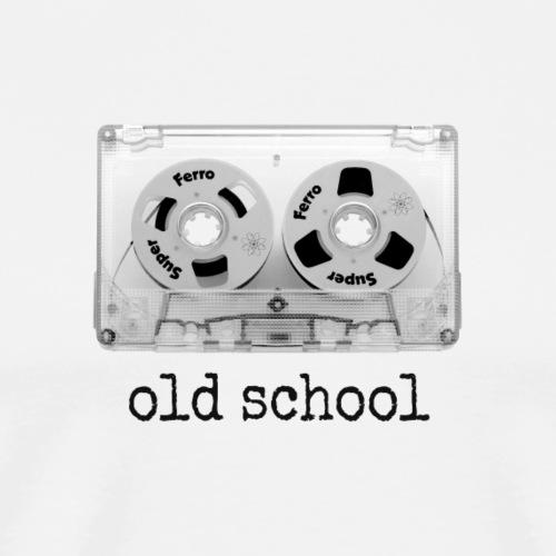old school tape cassette - Männer Premium T-Shirt