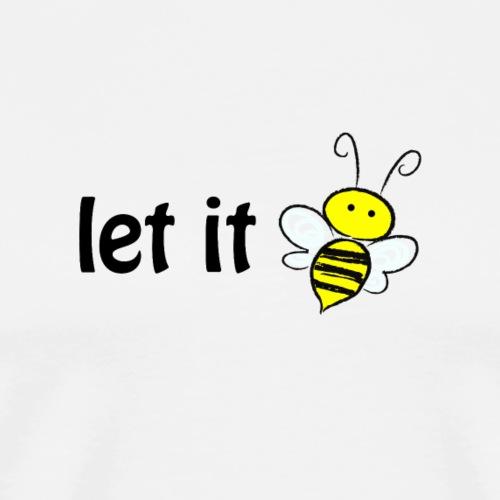 let it bee - Männer Premium T-Shirt
