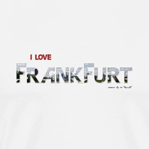 Frankfurt von Lieblingsregion (Skyline) - Männer Premium T-Shirt