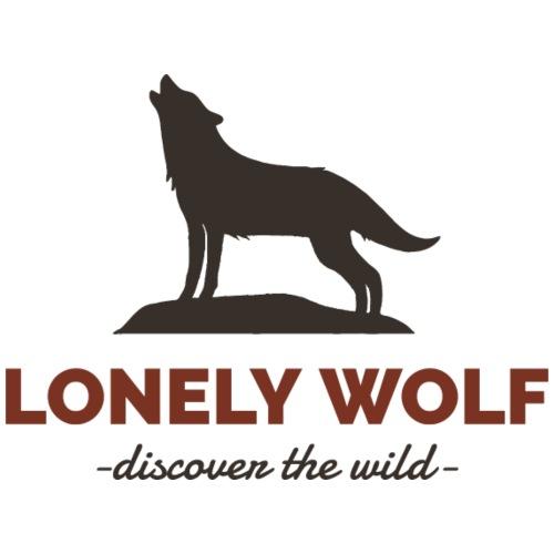 Lonely Wolf - Männer Premium T-Shirt