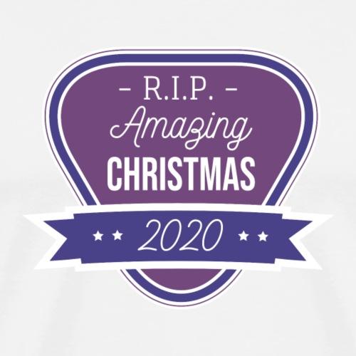 RIP amazing Christmas 2020 - Männer Premium T-Shirt