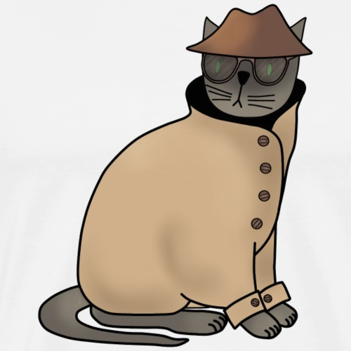 Secret cat - Men's Premium T-Shirt
