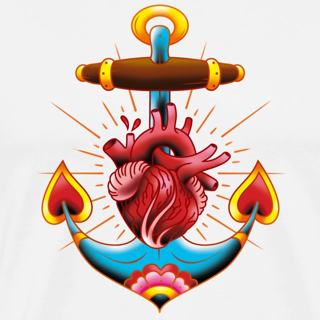Sailor's Heart - Tattoo design