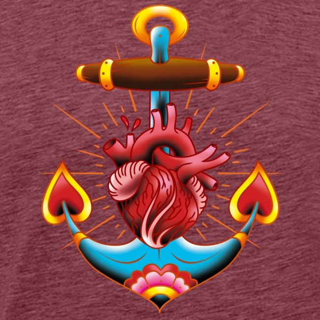 Sailor's Heart - Tattoo design