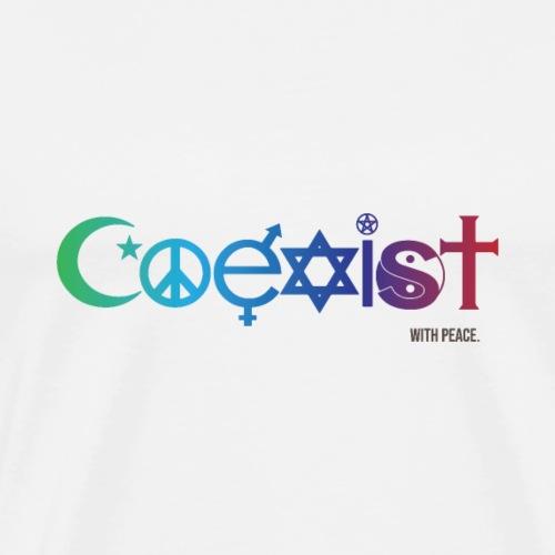 Coexist - Men's Premium T-Shirt