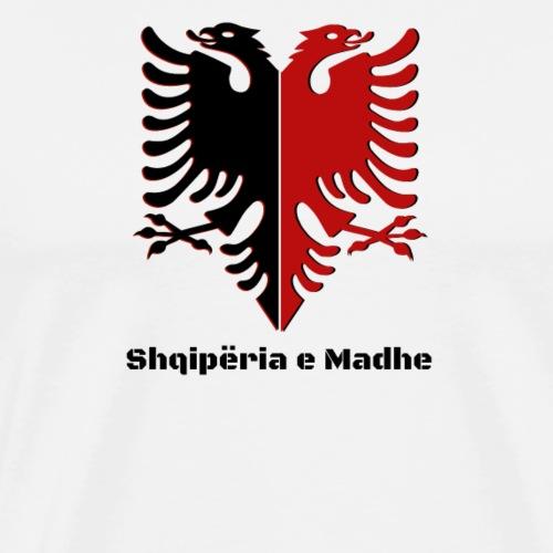 Albanian Eagle Albanien Flagge  Shqiperia  - Männer Premium T-Shirt