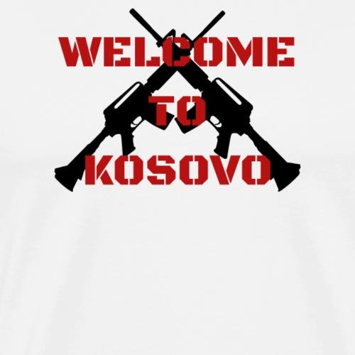 Albanien Kosovo Welcome To Kosovo - Männer Premium T-Shirt