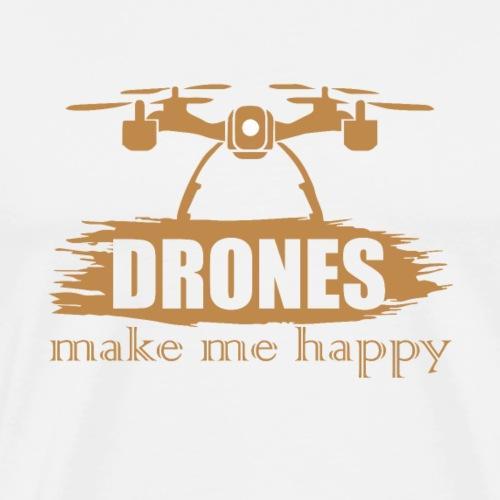 Drohnen machen mich glücklich