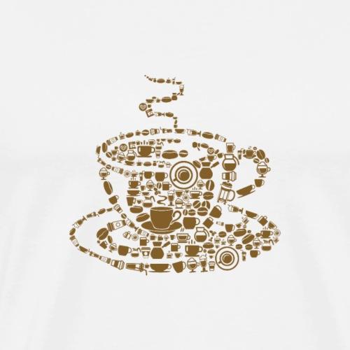Cafe - Männer Premium T-Shirt