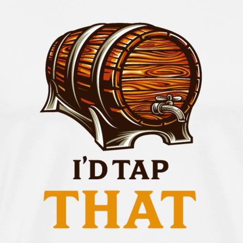 Beer / beer keg fan - gift idea - Men's Premium T-Shirt