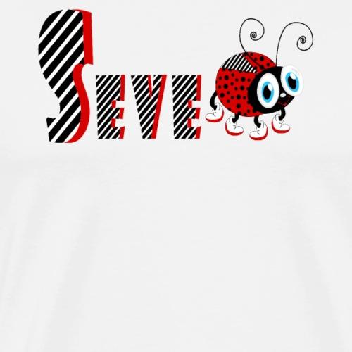 Tifo di regali di t-shirt di famiglia di Ladybug di settima anno - Maglietta Premium da uomo