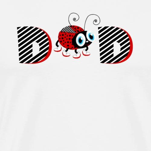T-shirt 2 ° anno Famiglia Coccinella T-shirt Papà - Maglietta Premium da uomo