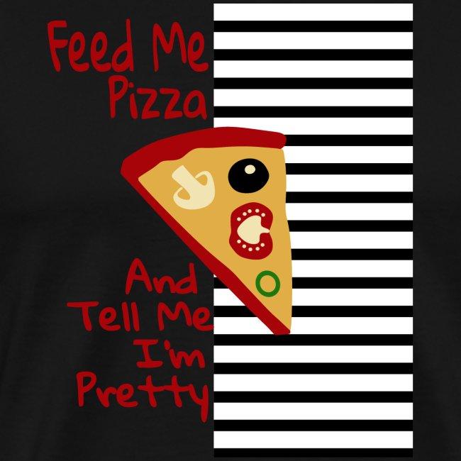 Nutri la mia pizza e dimmi che sono carina