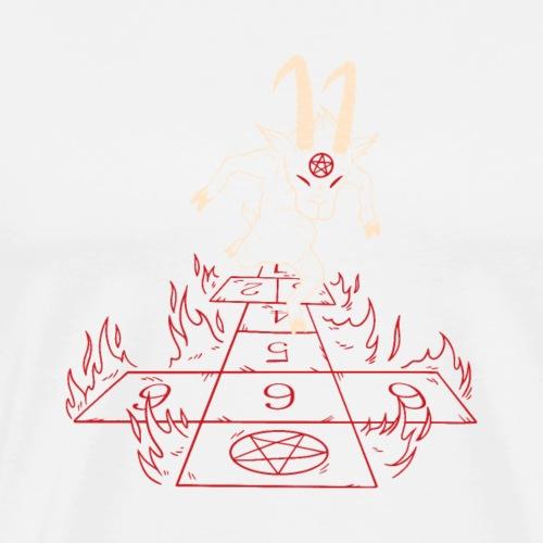 creepy hell - Männer Premium T-Shirt