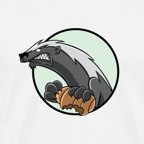 HoneyBadger - Männer Premium T-Shirt