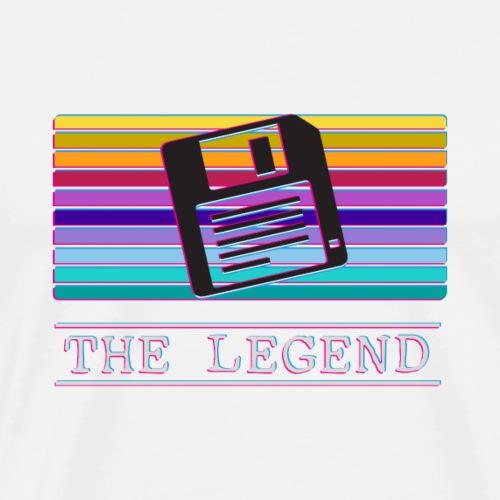 floppy disk retro - Männer Premium T-Shirt