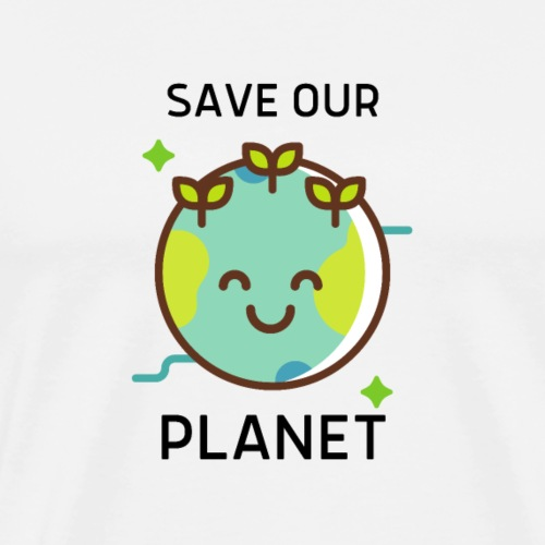 Save our planet LIGHT - Men's Premium T-Shirt