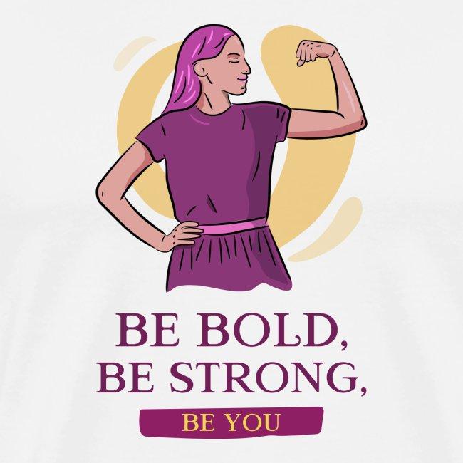 t shirt design generator featuring an empowered