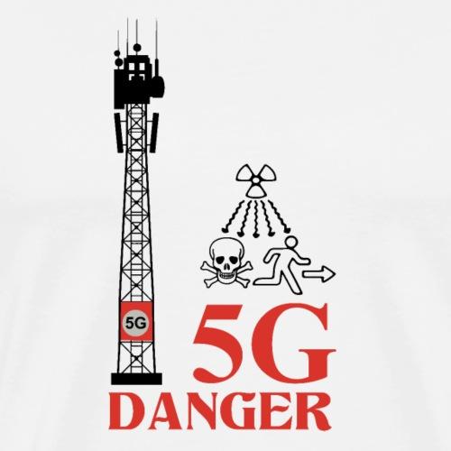 5 G Danger - Men's Premium T-Shirt