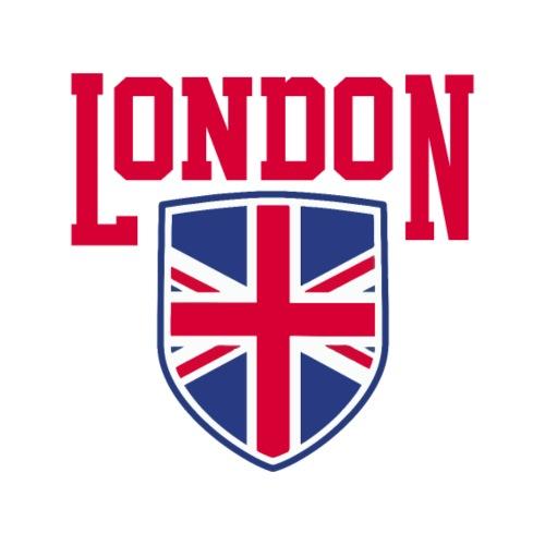 London Souvenir - London Wappen Flagge - Männer Premium T-Shirt