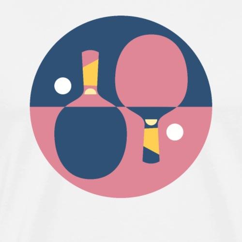 Tisch Tennis Schläger - Männer Premium T-Shirt